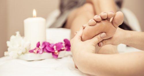 Reflexología masaje