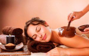 Terapia de masajes con chocolate en Barcelona